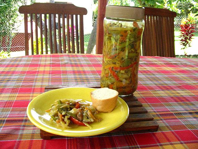 Mauritian Food, Traditional Mauritian Food, Mauritius Food, Mauritius cuisine, traditional food in Mauritius, Mauritian cuisine, Mauritius dishes, achard legumes